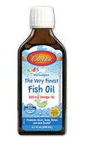 Carlson Kid's Norwegian Very Finest Fish Oil