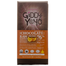 Giddy YoYo Orange 76% Certified Organic Dark Chocolate Bars 1 Bar | 838206000049