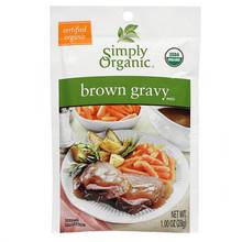 Simply Organic Brown Gravy Mix   089836188732