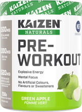 Kaizen Naturals Pre-Workout Green Apple 258g | 621375132761