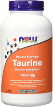 Now Foods Taurine Double Strength 1000mg 250 Veg Capsules | 733739801432