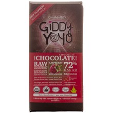 Giddy YoYo Raspberry 73% Certified Organic Dark Chocolate Bars 1 Bar | 838206000193