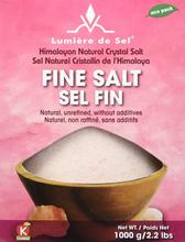 Lumiere de Sel Himalayan Natural Crystal Salt - Fine Salt 1000 grams | 875405000067