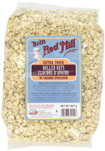 Bob's Red Mill Extra Thick Rolled Oats | 039978321558