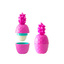 Rebels Refinery Rebel Rose Geometric Pineapple Lip Balm Pink | 628451699163
