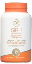 SIBU Sea Berry Therapy Omega-7 Support Sea Buckthorn Oil 180 soft gels | 858180002648
