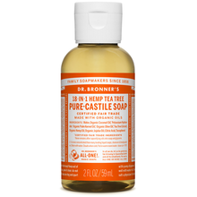 Dr. Bronner's Pure-Castile Liquid Soap Tea Tree 59ml | 018787776025