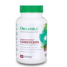 Organika Mushroom Extract Cordyceps 200mg 90 Capsules | 620365015831