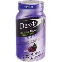 Dex4 Glucose Tablets Grape 50 tablets | 0057565949541