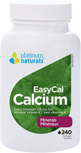 Platinum Naturals EasyCal Calcium - Extra Strength 240 Softgels | 773726031107