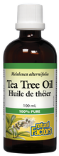 Natural Factors Tea Tree Oil Liquid | 068958043494