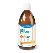Progressive OmegEssential + D Liquid Natural Orange Flavour - 500mL | 837229004560