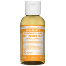 Dr. Bronner's Pure-Castile Liquid Soap Citrus 59ml | 018787777022