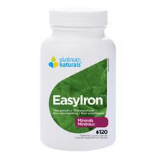 Platinum Naturals EasyIron 120 Veg Liquid Capsules | 773726030919