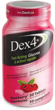 Dex4 Glucose Tablets Raspberry 50 tablets | 0057565949527