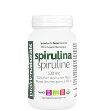 Prairie Naturals SuperFoods Organic Spirulina 500mg 360 Tablets | 067953004431
