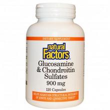 Natural Factors Glucosamine and Chondroitin Sulfate 900mg Capsules | 068958026879