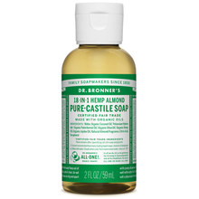 Dr. Bronner's Pure-Castile Liquid Soap Almond 59 ml |018787771020
