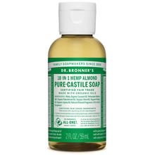 Dr. Bronner's Pure-Castile Liquid Soap Almond 59 ml | 018787771020