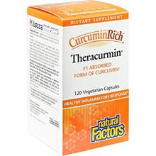 Natural Factors CurcuminRich Theracurmin Vegetarian Capsules | 068958045399