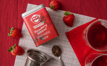 Wize Monkey Coffee Leaf Tea Strawberry Hibiscus | 628250387070