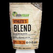 Iron Vegan Athlete's Blend Protein Powder 1kg - Natural Vanilla | 837229007158