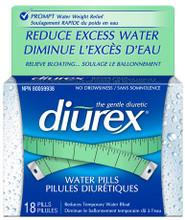 Diurex Water Pills Tablets | 0072959001018