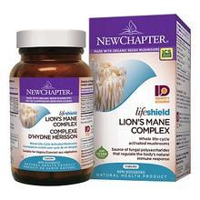 New Chapter LifeShield Lion's Mane Complex 72 Veg Capsules | 727783100658