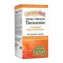 Natural Factors CurcuminRich Double Strength Theracurmin | 068958045443