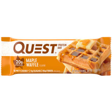 Quest Protein Bar Maple Waffle | 888849006380