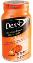 Dex4 Glucose Tablets Orange 50 tablets | 0057565949510