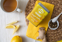 Wize Monkey Coffee Leaf Tea Ginger Lemon | 628250387063