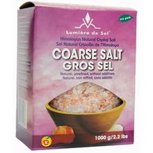 Lumiere de Sel Himalayan Natural Crystal Salt Coarse 1000 grams | 875405000036