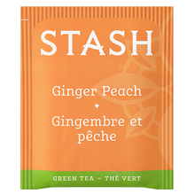 Stash Tea Ginger Peach Green Tea with Matcha | 077652083651