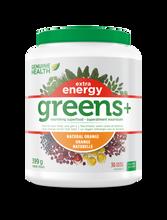 Genuine Health Greens+ Extra Energy 399 g Natural Orange | 624777002670