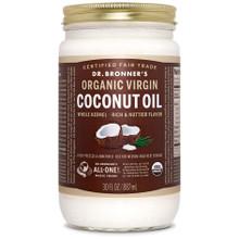 Dr. Bronner's Whole Kernel Organic Virgin Coconut Oil 887ml | 018787505038
