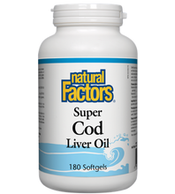 Natural Factors Super Cod Liver Oil Softgels | 068958010212