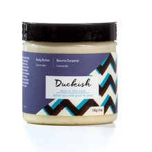 Duckish Natural Skin Care Body Butter Lavender 116 grams | 777155998086