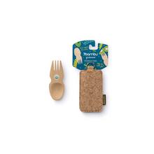 Bambu Spork and Cork Travel Set