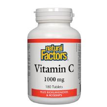 Natural Factors Vitamin C 1000mg Plus Bioflavonoids and Rosehips | 068958013459