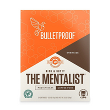 Bulletproof The Mentalist Medium Dark Roast Coffee Pods