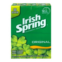 Irish Spring Original Deodorant Soap Bar 6 x 90g | 0058000858978