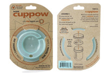 Cuppow Canning Jar Drinking Lid Wide Mouth with Straw-Tek | 713757602136