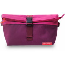 Goodbyn Rolltop Insulated Lunch Bag Magenta | 855705005306