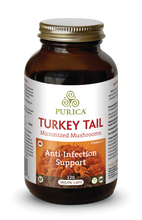 Purica Turkey Tail Micronized Mushrooms - Anti-Infection Support Vegan Caps 120 Vegan Caps | 815555000333