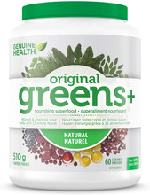 Genuine Health Greens+ Original Powder Natural 510g| 624777000256