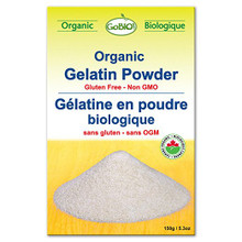 GoBio Organic Gelatin Powder 150 Grams | 687789125126