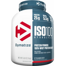 Dymatize Nutrition ISO 100 Hydrolyzed Whey Protein Isolate Strawberry