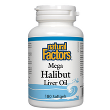 Natural Factors Mega Halibut Liver Oil Softgels | 068958010113