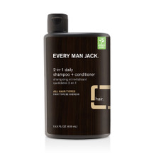Every Man Jack 2 in 1 Daily Shampoo + Conditioner | 878639002524